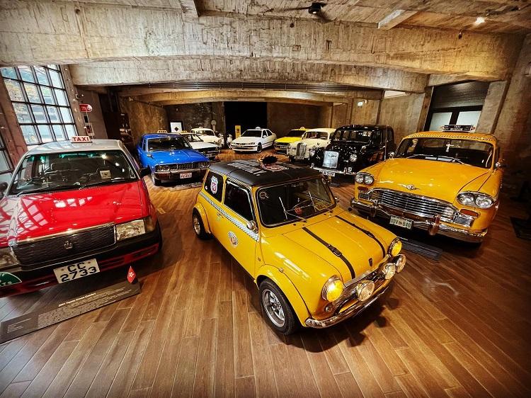 宜蘭觀光工廠推薦三:計程車博物館